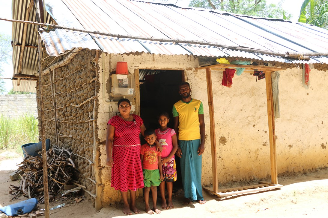 Renovate Houses of low-income Families in Sri Lanka