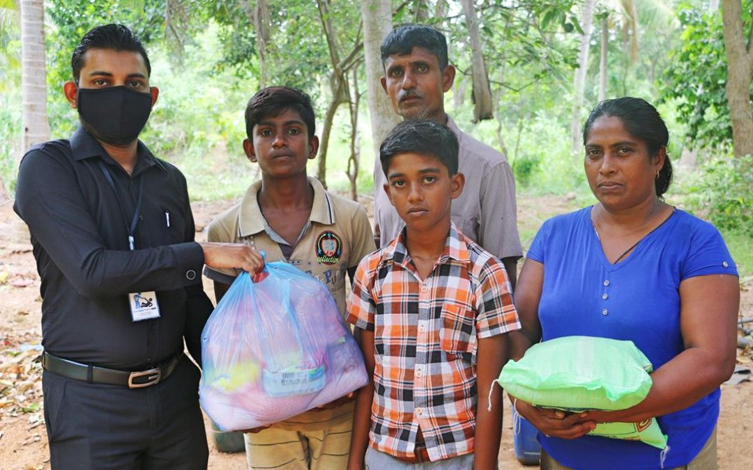 Dry Ration Donations to Families Affected