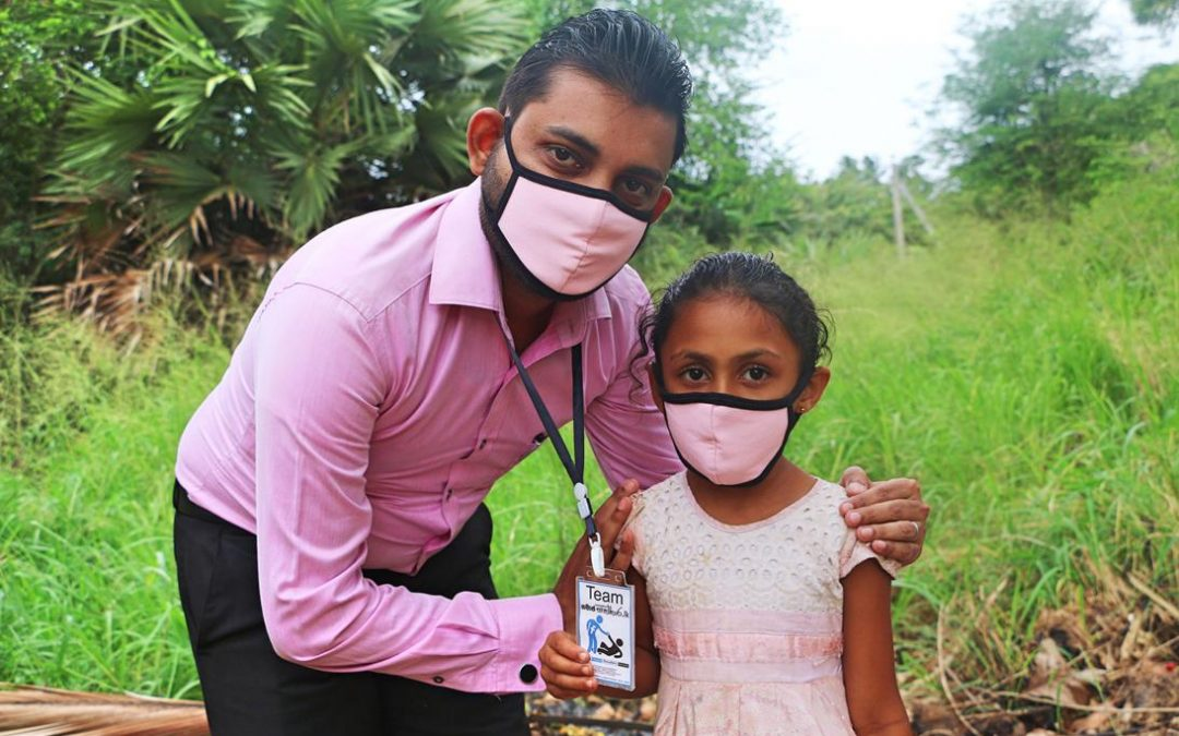 Donations of Masks and Sanitizers to Low Income Families – Part 02