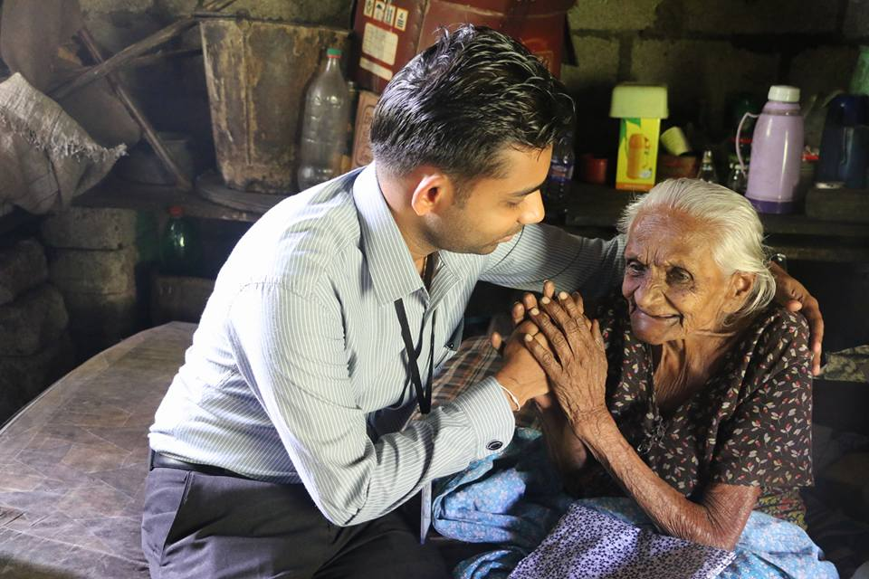 Support for poor Seniors