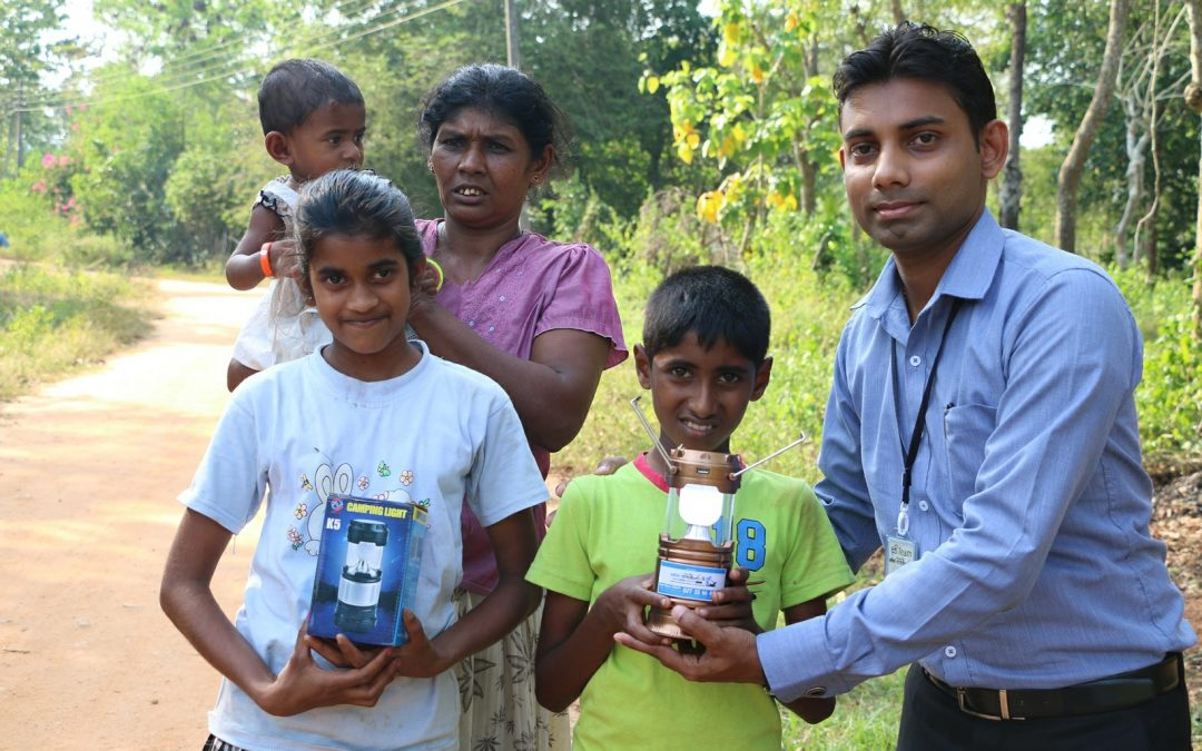 Solar Lanterns for Students