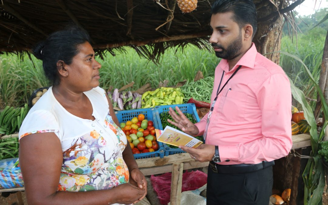 Observation of the vegetable shop started as a self-employment (Day 2 Evening)