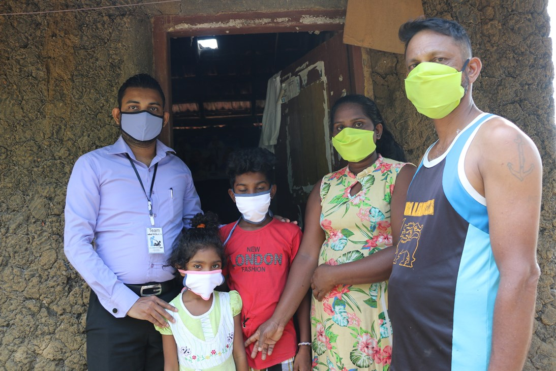 Contribution of Support Sri Lanka Fundraiser to prevent the spread of COVID- 19 virus