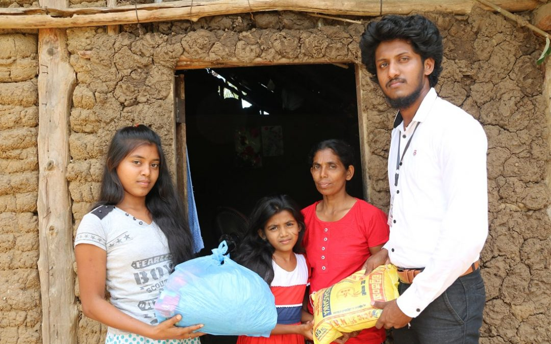 Donating dry rations to needy families who are starving due to the Covid19 disaster (Day 02)