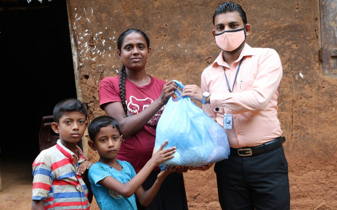 Distribution dry food items for poor families (Day 01)